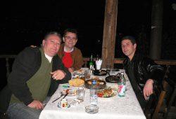 Gia Isiani (Georgischer Fußballverband), Gerhard Stroicz und Giorgi Tkavadze (FC Dinamo Tiflis)